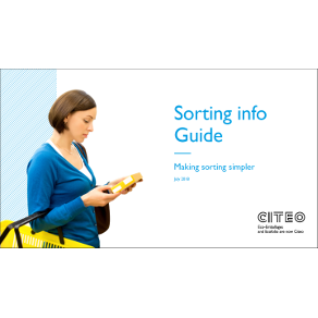 Citeo Sorting Guide Info