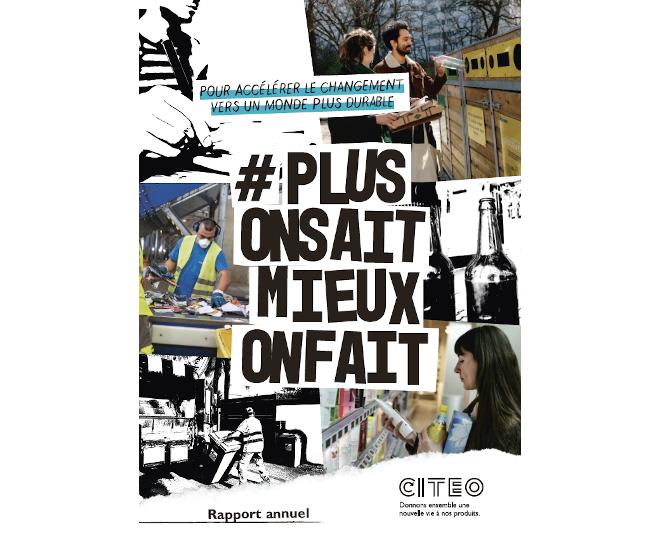 Rapport annuel de Citeo 2019